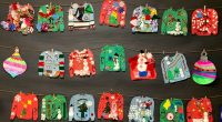 Gilpin's silly holiday sweater day is on Thursday, December 19. Thank you to Ms. Anderson's class for providing the inspiring artwork!